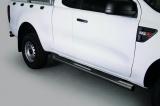 Nerez boční nášlapy se stupátky Ford Ranger II single cab