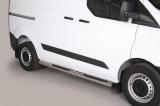 Nerez boční nášlapy se stupátky Ford Transit Custom (L1)