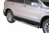Nerez boční nášlapy se stupátky Honda CR-V III facelift