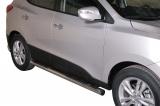 Nerez boční nášlapy se stupátky Hyundai IX35