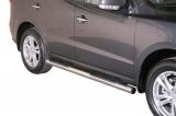 Nerez boční nášlapy se stupátky Hyundai Santa Fe II facelift