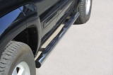 Nerez boční nášlapy se stupátky Jeep Cherokee (KJ)