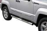Nerez boční nášlapy se stupátky Jeep Cherokee (KK)