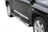 Nerez boční nášlapy se stupátky Jeep Compass