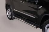 Nerez boční nášlapy se stupátky Jeep Grand Cherokee IV