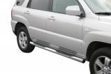 Nerez boční nášlapy se stupátky Kia Sportage II facelift