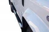 Nerez boční nášlapy se stupátky Land Rover Defender 110