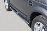 Nerez boční nášlapy se stupátky Land Rover Discovery 3
