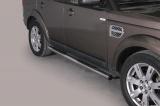 Nerez boční nášlapy se stupátky Land Rover Discovery 4