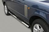 Nerez boční nášlapy se stupátky Land Rover Range Rover