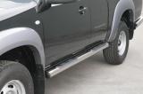 Nerez boční nášlapy se stupátky Mazda BT 50 Freestyle