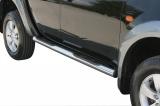 Nerez boční nášlapy se stupátky Mitsubishi L200 Double Cab II