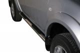 Nerez boční nášlapy se stupátky Mitsubishi L200 Double Cab III