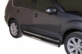 Nerez boční nášlapy se stupátky Mitsubishi Outlander II