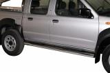Nerez boční nášlapy se stupátky Nissan NP 300 doublecab