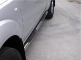 Nerez boční nášlapy se stupátky Nissan Pick Up Navara doublecab