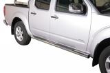 Nerez boční nášlapy se stupátky Nissan Pick Up Navara doublecab II