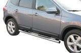 Nerez boční nášlapy se stupátky Nissan Qashqai +2