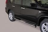 Nerez boční nášlapy se stupátky Nissan X-Trail III