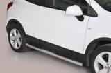 Nerez boční nášlapy se stupátky Opel Mokka / X