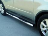 Nerez boční nášlapy se stupátky Subaru Tribeca I