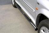 Nerez boční nášlapy se stupátky Suzuki Grand Vitara XL7