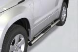 Nerez boční nášlapy se stupátky Suzuki Grand Vitara 3dvéřové