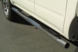 Nerez boční nášlapy se stupátky Toyota Hi Lux 2.5 TD double cab