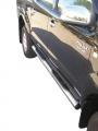 Nerez boční nášlapy se stupátky Toyota Hi Lux double cab