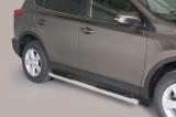 Nerez boční nášlapy se stupátky Toyota Rav 4 IV