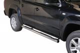 Nerez boční nášlapy se stupátky Volkswagen Amarok