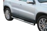 Nerez boční nášlapy se stupátky Volkswagen Tiguan I