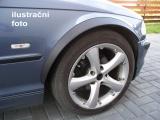 Lemy blatníků Mitsubishi Pajero Pinin, 5-dvéř., černý mat
