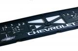 Podložka pod SPZ 3D Chevrolet