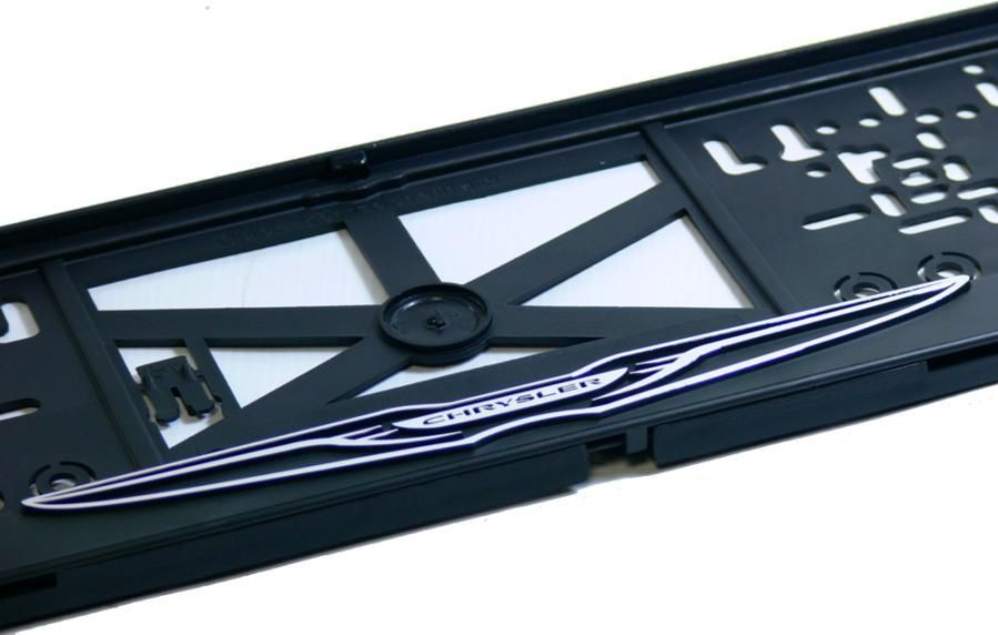 Podložka pod SPZ 3D Chrysler