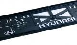 Podložka pod SPZ 3D Hyundai