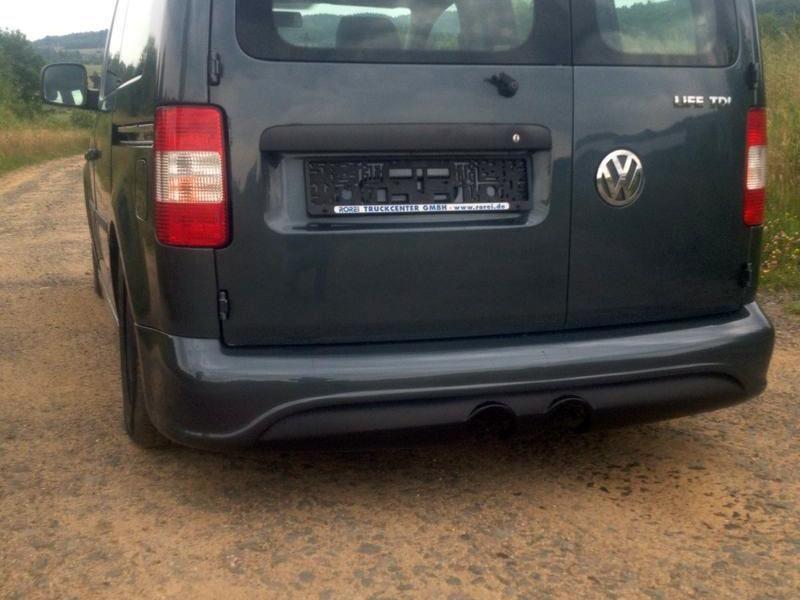 Power Zone Difuzor zadního nárazníku Volkswagen Caddy 2K