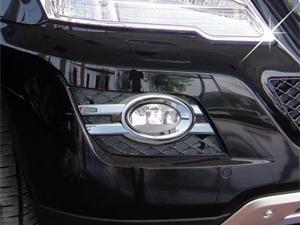 Chrom kryty mlhových světel-oválných Mercedes ML W164