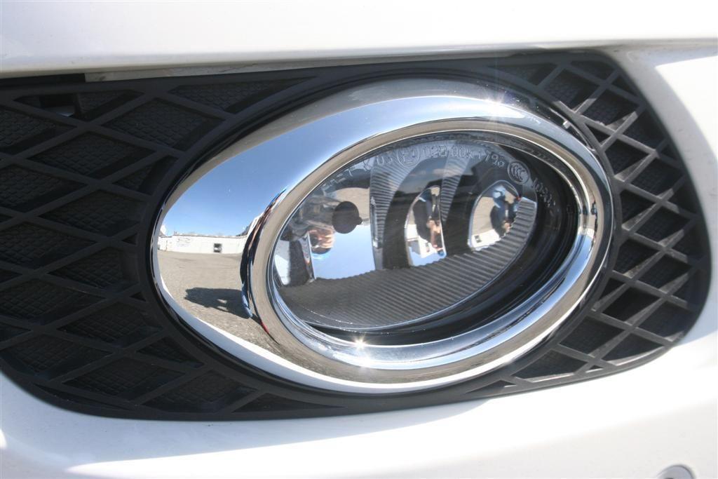 Chrom rámečky mlhových světel-oválných Mercedes ML W164
