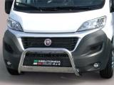 Nerezový přední ochranný rám Fiat Ducato III FL, 63mm