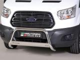 Nerezový přední ochranný rám Ford Transit 2013, 63mm