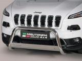 Nerezový přední ochranný rám Jeep Cherokee KL, 63mm