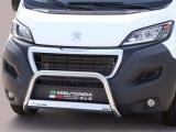 Nerezový přední ochranný rám Peugeot Boxer III FL, 63mm