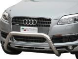 Přední ochranný nerez rám Audi Q7, 76mm