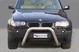 Přední ochranný nerez rám BMW X3