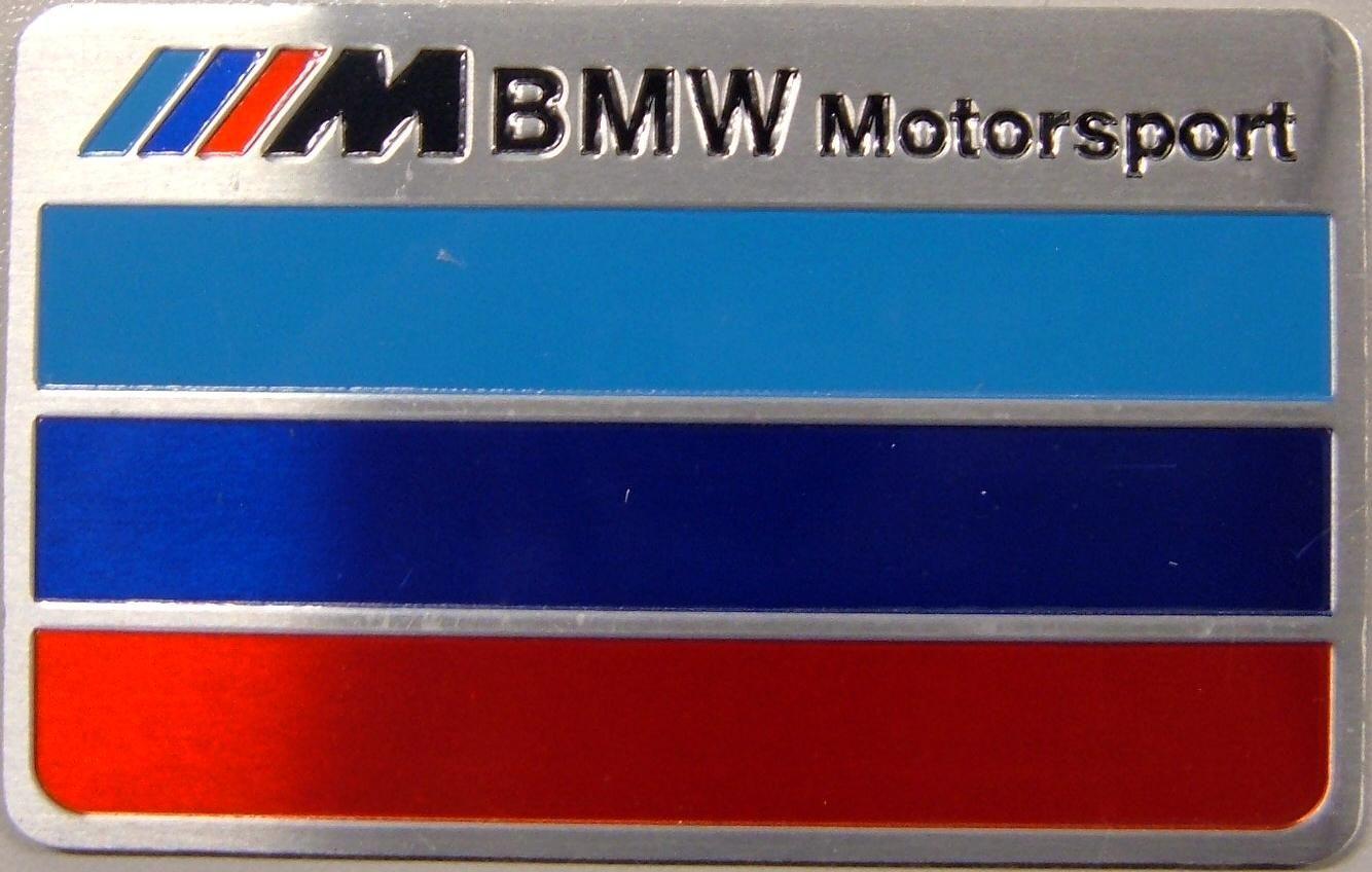 Samolepící znak BMW Motorsport