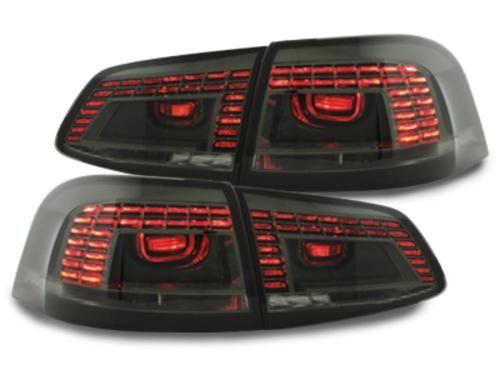Dectane Zadní LED světla Volkswagen Passat 3C Variant, černo-kouřové