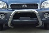 Přední ochranný nerez rám Hyundai Santa Fe