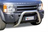 Přední ochranný nerez rám Land Rover Discovery 3