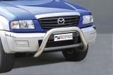 Přední ochranný nerez rám Mazda B2500 Pick-up Double Cab